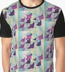 Stingray Water Color Graphic T-Shirt