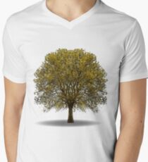 tree isolated over white Mens V-Neck T-Shirt