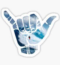 Surf Hang Loose - white Sticker