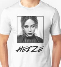 Heize Photo and Name With Box T-Shirt