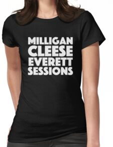 David Brent - Milligan, Cleese, Everett, Sessions Womens Fitted T-Shirt