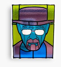 Heisenberg Stained Glass Canvas Print