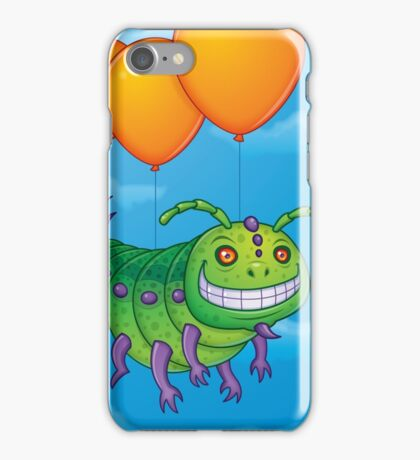 Impatient Caterpillar iPhone Case/Skin