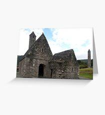 St. Kevin's Church, Glendalough Greeting Card