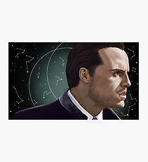 Moriarty, constellations background Photographic Print