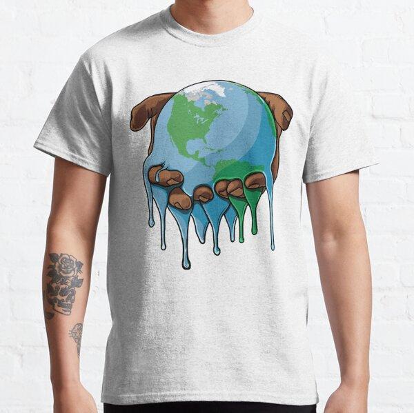 Estoy en la tierra Camiseta clásica