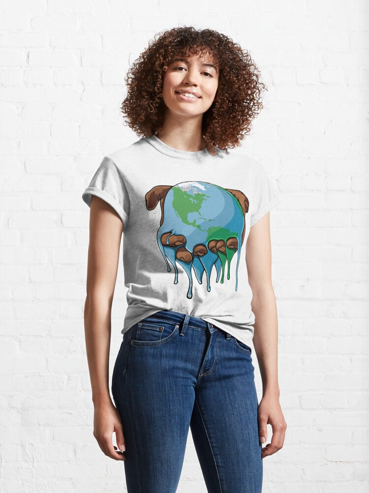 Alternate view of I'm Up Earth Classic T-Shirt