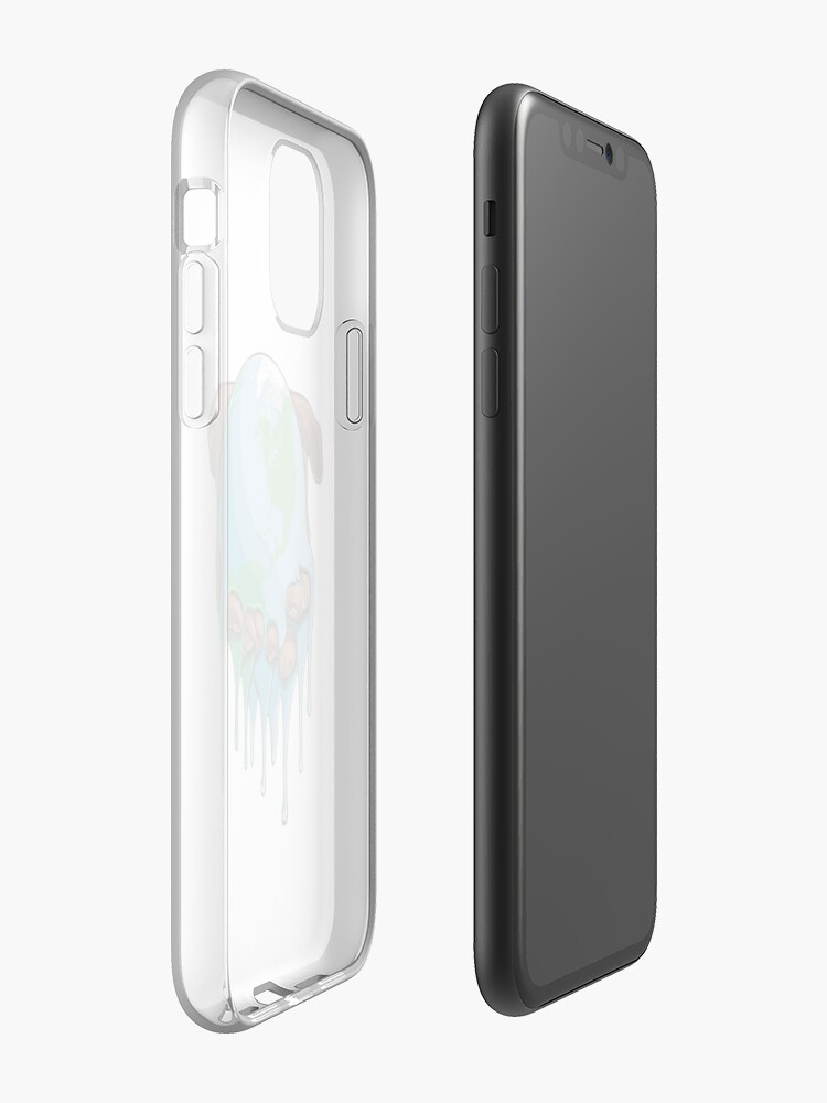 coque iphone licorne | Coque iPhone « Je suis Up Earth », par SuperMrStylo