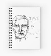 Sylvia Plath Spiral Notebook