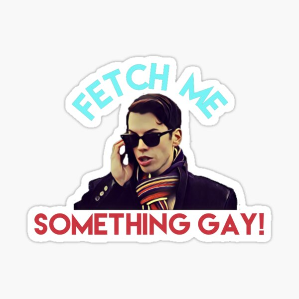 Felix Dawkins // Orphan Black // Va me chercher quelque chose de gay! Sticker