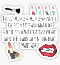 Makeup Addiction Sticker