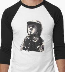 Steve McQueen Helmet Motorbike race T-Shirt