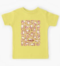 Red Panda all over pattern spread Kids Tee