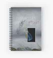 Pineapples have a Heart Spiral Notebook