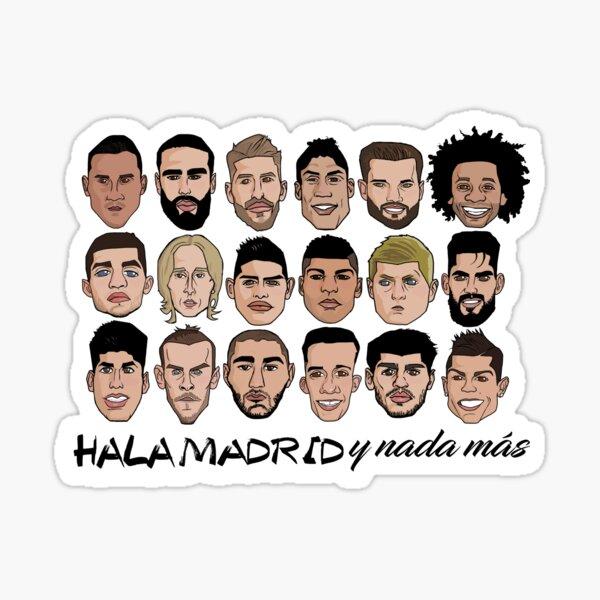 Real Madrid 2017 Sticker