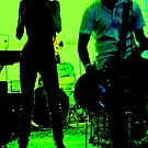 "Green Garage Gig by Belinda ""BillyLee"" NYE (Printmaker)"