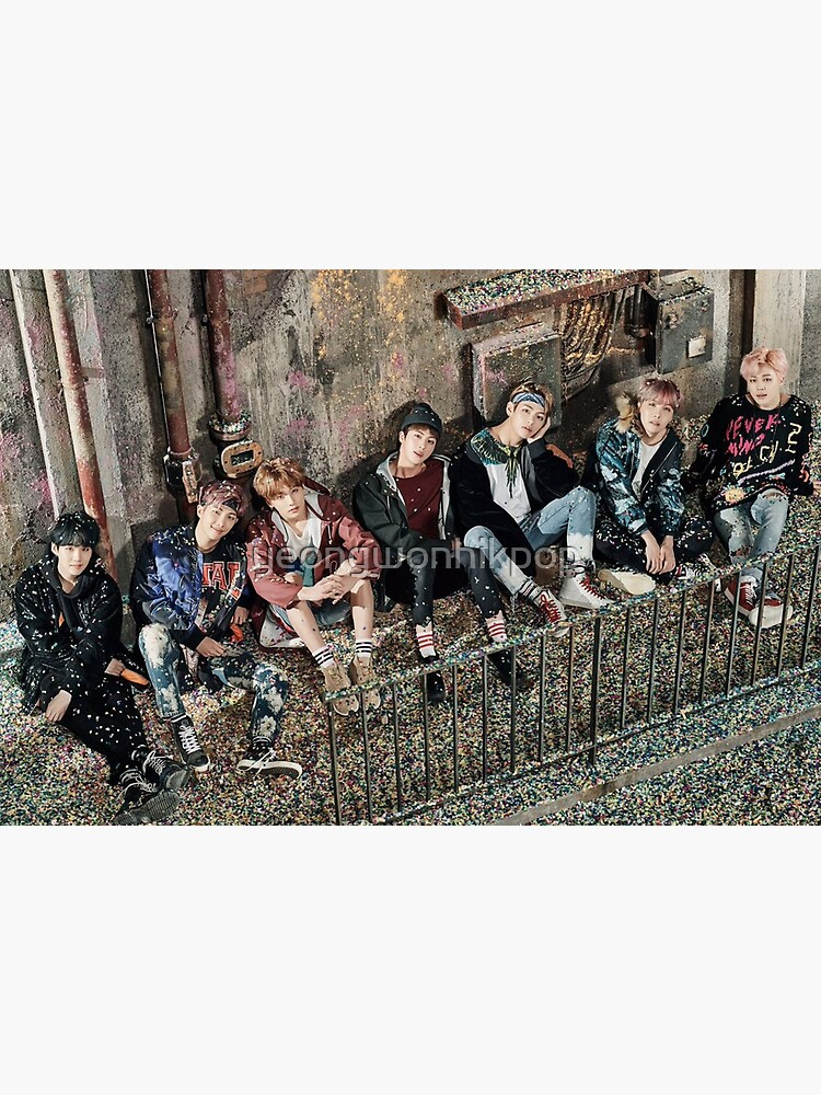 BANGTAN BOYS BTS YOU NEVER WALK ALONE 36 x 24 Poster