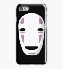 """No Face's Mask"" Ghibli Studio -Spirited Away- iPhone Case/Skin"