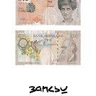 pbbyc - Banksy Princess Diana £10 Note by pbbyc