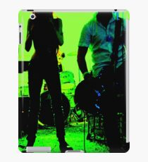 Green Garage Gig iPad Case/Skin