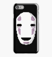"""No Face's Mask Pixel Art"" Ghibli Studio -Spirited Away- iPhone Case/Skin"