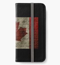 Canada flag iPhone Wallet/Case/Skin
