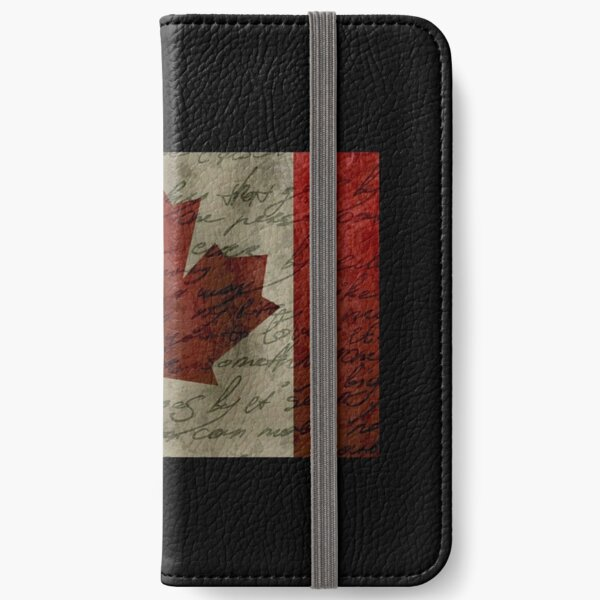 Canada flag iPhone Wallet