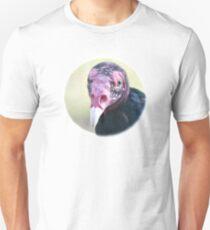 Young Turkey Vulture / Junger Truthahngeier Unisex T-Shirt