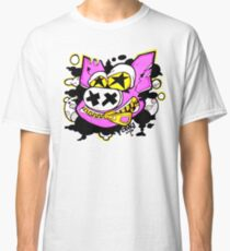 Oink! Starry Eyed Freak Pig Character Original Design Classic T-Shirt