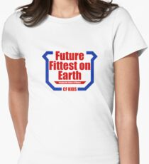Future Fittest on Earth Womens Fitted T-Shirt