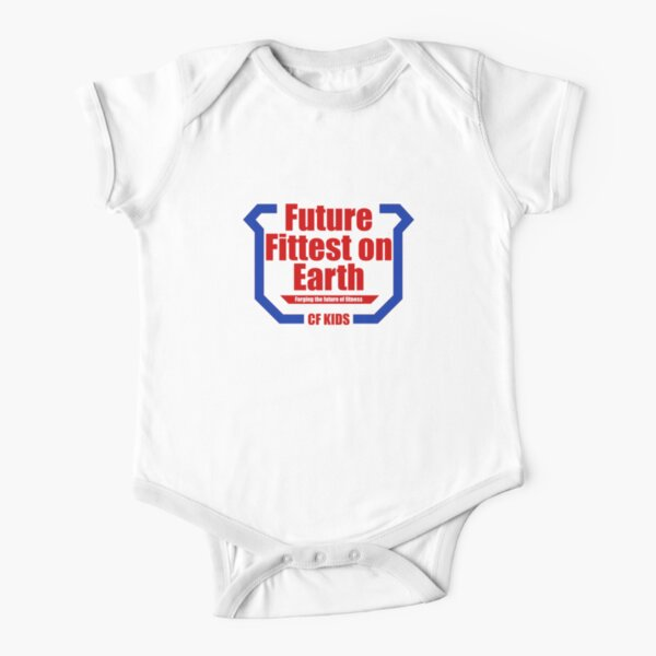 Future Fittest on Earth Short Sleeve Baby One-Piece