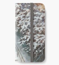 On the stairs iPhone Wallet/Case/Skin