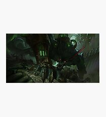 League of Legends - Warwick  Photographic Print