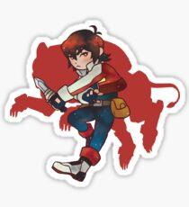 Red Lion - Keith Sticker