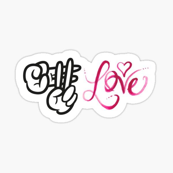 Hashtag Love (RB Digistickie Challenge: Week 4)  Sticker