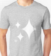 Sparkle Emoji (White) Slim Fit T-Shirt