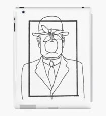 Rene Magritte Son of Man iPad Case/Skin