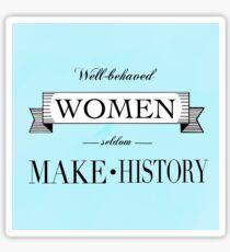 Women make History Sticker