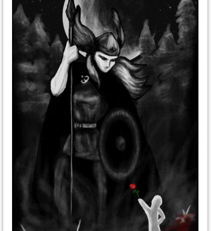 Valkyrie Valentine no text Sticker