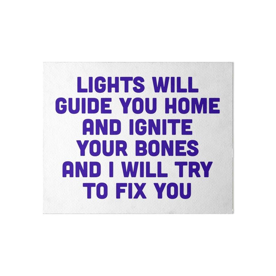Fix You\
