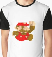 Mario Voxel art amiibo  Graphic T-Shirt