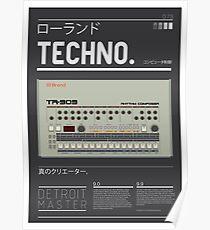 909-DETROIT_BRAND Poster