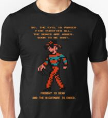 FREDDY Nightmare on Elm Street 8-bit NES T-Shirt