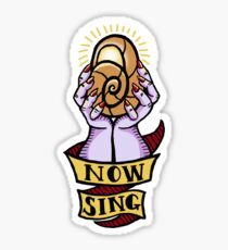 Now, Sing! Sticker