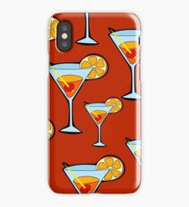 Orange Cocktail iPhone Case/Skin