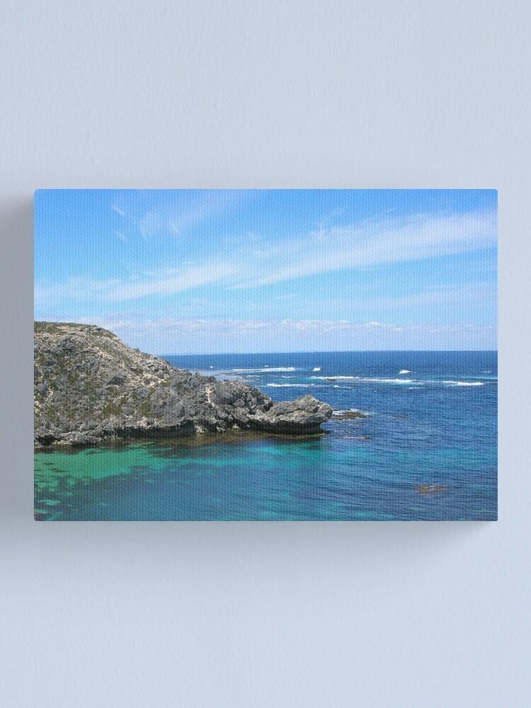 Alternate view of Blue Ocean Canvas Print