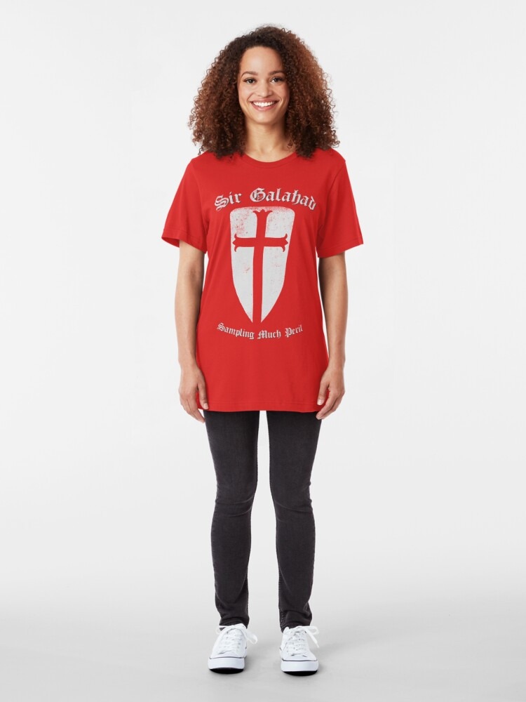 Alternate view of Sampling Much Peril Slim Fit T-Shirt