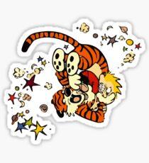 Horseplay - Calvin and Hobbes Sticker