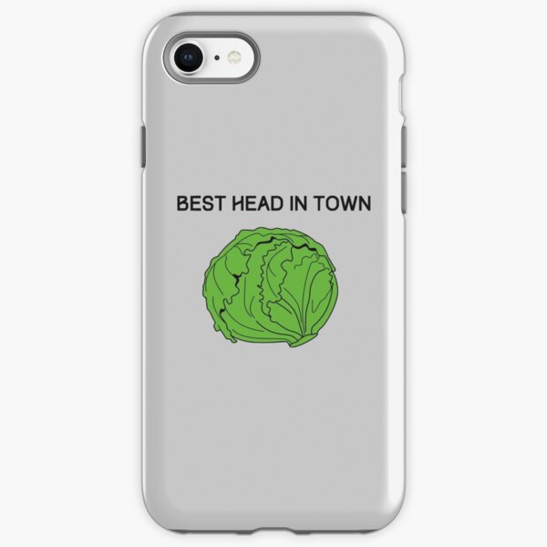 Best Head in Town (Cabbage) iPhone Tough Case