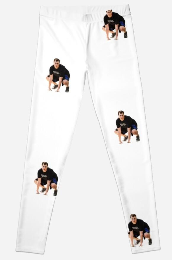 Sharp Tk Leggings By Cameron Martin Redbubble
